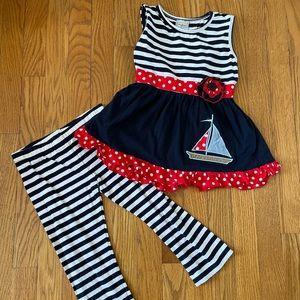 Ann Loren Matching  - Top and leggings